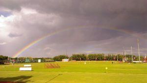rainbow in potch